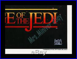 Star Wars REVENGE OF THE JEDI No-DATE 27x41 MOVIE POSTER C-9 MINT/ROLLED