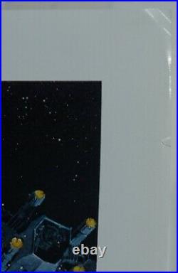 Star Wars ROTJ Rolled Unused Style B 1983 Original US 1 Sheet Movie Poster 27x41