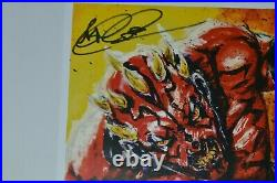 Star Wars Ray Park & Vo Nguyen Signed 11x17 Darth Maul Poster with JSA Hologram