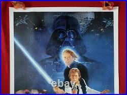 Star Wars Return Of The Jedi 1983 Original Movie Poster 1sh Rolled Style B Rotj