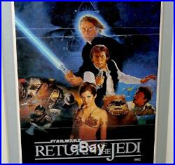Star Wars Return of The Jedi Australian Daybill Movie Poster MAPS 1983 STYLE B
