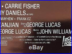 Star Wars Return of the Jedi 27 x 41 Orig. Movie Poster Style A 1983 rolled NM/M