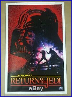 Star Wars Return of the Jedi Original Movie Poster 27x41 One Sheet