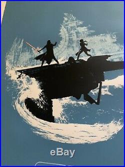 Star Wars Rise of Skywalker Art Print Movie Poster Matt Ferguson XX/200 Mondo