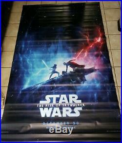Star Wars Rise of Skywalker/Spies in Disguise 5ftx8ft Movie Theater Vinyl Banner