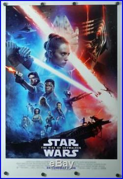 Star Wars Rise of Skywalker original DS movie poster D/S 27x40 INTL Final NM+