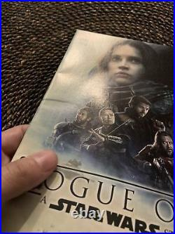 Star Wars Rogue One #1 Walmart Movie Poster Variant 1st Appearance Cassian Andor