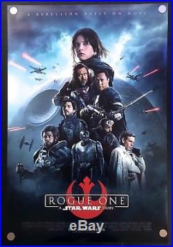 Star Wars Rogue One 2016 Original Movie Poster International Version D/S C8-C9