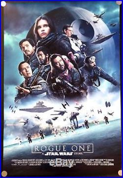 Star Wars Rogue One 2016 Original Movie Poster One Sheet International Version