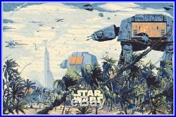Star Wars Rogue One Movie Poster Screen Print Variant Edition Kilian Eng Mondo