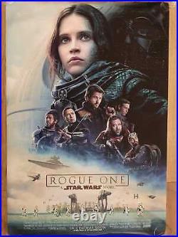 Star Wars Rogue One ORIGINAL ONE SHEET MOVIE POSTER 27 x 40