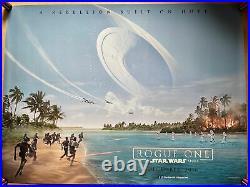 Star Wars Rogue One Original Cinema UK Quad Poster 2016