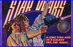 Star Wars STYLE D COLOR-BAR PRINTER'S PROOF MINT/NearMINT 1-Sheet MOVIE POSTER