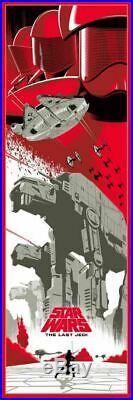 Star Wars Sequel Trilogy Alt Movie Poster Set Eric Tan Rise Skywalker BNG NYCC