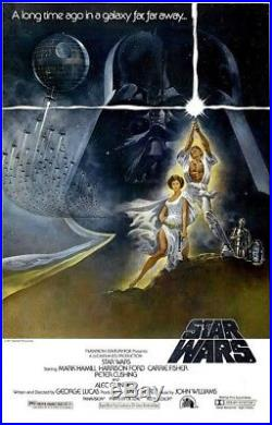 Star Wars Style A 27x41 Rolled Mint One Sheet Movie Poster 1977