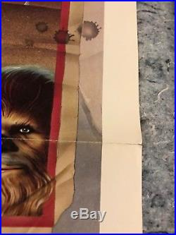 Star Wars (Style D) 1977 Original 1 Sheet Movie Poster 27 x 41 (VF) NSS Style