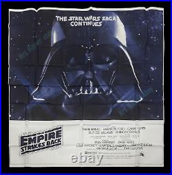 Star Wars THE EMPIRE STRIKES BACK 1980 6-SHEET MOVIE POSTER SPECTACULAR! N-MINT