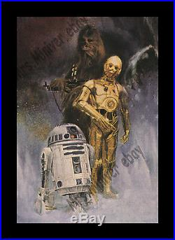 Star Wars THE EMPIRE STRIKES BACK 1980 MINT/ROLLED NEVER-FOLDED MOVIE POSTER