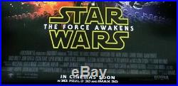 Star Wars THE FORCE AWAKENS 2015 Original 27x40 DS Int'l Movie Poster A