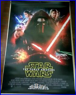 Star Wars THE FORCE AWAKENS 2015 Original 27x40 DS Int'l Movie Poster B