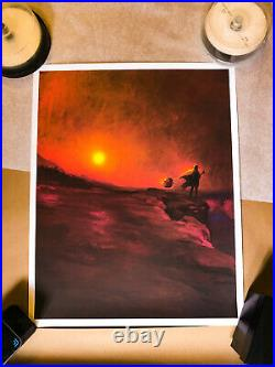 Star Wars The Companion (Mandalorian) Poster XX/100 Bottleneck Gallery