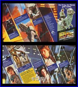 Star Wars The Empire Strikes Back 13-piece German Movie Poster Premiere Set