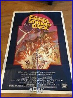 Star Wars The Empire Strikes Back 1982 ReIss 27x41 Original Movie Poster R820180