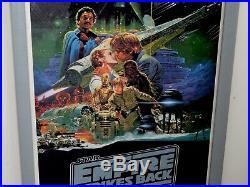 Star Wars The Empire Strikes Back Australian Daybill Movie Poster MAPS Litho Vtg