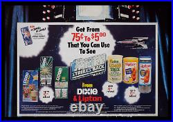 Star Wars The Empire Strikes Back Dixie & Lipton Store Display Movie Poster