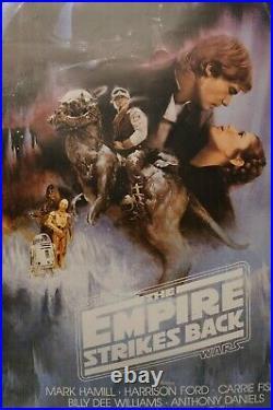 Star Wars The Empire Strikes Back Movie Poster, 1995 USA MOVIE POSTER