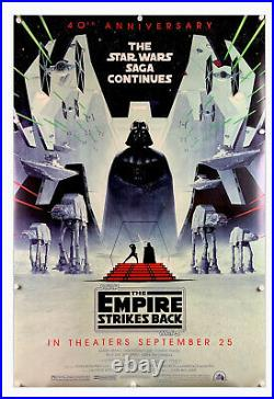 Star Wars The Empire Strikes Back New Movie Poster D/S 27x40 40th Anniversary