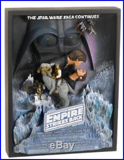 Star Wars The Empire Strikes Back Style A Limited Edition Movie Poster Statue