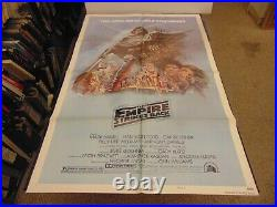 Star Wars The Empire Strikes Back Style B 1980 Orig 1-sheet Poster N7144
