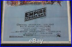 Star Wars The Empire Strikes Back Style B 41x27 Original Movie Poster 1980 Rare