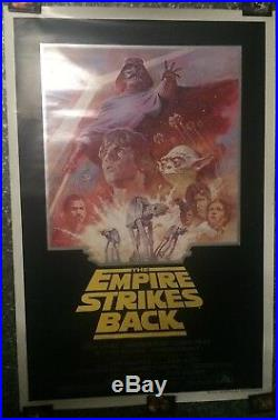 Star Wars The Empire Strikes Back Summer 81 One Sheet Rerelease Movie Poster