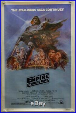 Star Wars The Empire Strikes Back original release US Onesheet movie poster