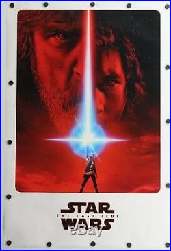 Star Wars The Last Jedi 2017 Double Sided Original Movie Poster 27 x 40