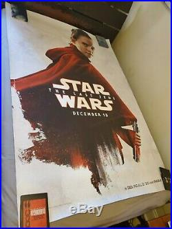 Star Wars The Last Jedi Episode 8 VIII Bus Shelter Poster 4ft x 6ft SS Rey