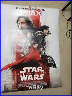 Star Wars The Last Jedi IMAX Bus Shelter Poster 4'x8