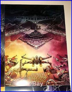 Star Wars The Last Jedi/ The Rise of Skywalker AMC IMAX Movie Poster Dan Mumford