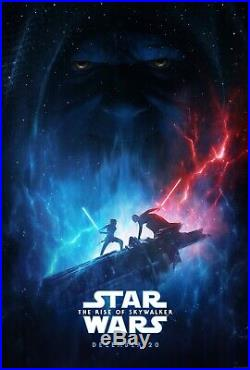 Star Wars The Rise Of Skywalker 27x40 Original D/S Movie Poster 1 Sheet PREORDE