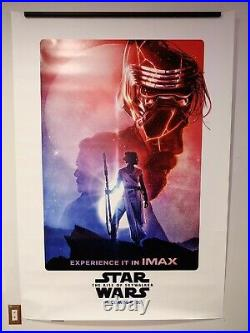Star Wars The Rise Of Skywalker Double Sided IMAX Poster 4x6 Feet 48x72 Inches