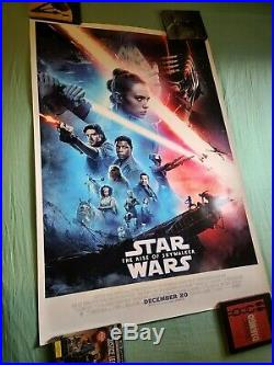Star Wars The Rise of Skywalker Movie Poster 27x40 DS
