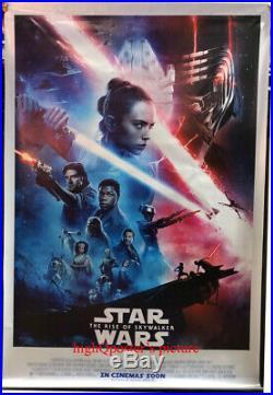 Star Wars The Rise of Skywalker movie 4x6feet vinyl BANNER poster pls read des