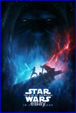 Star Wars The Rise of Skywalker original DS movie poster 27x40 D/S INTL B