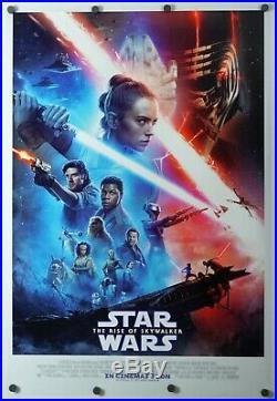 Star Wars The Rise of Skywalker original DS movie poster D/S 27x40 INTL Final