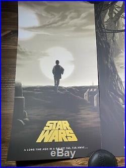 Star Wars Trilogy VARIANT Set Of 3 By Florey Art Print Movie Posters Mondo X/125