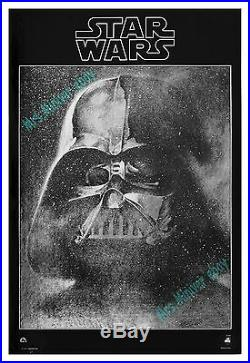 Star Wars VADER MYLAR MINT/ROLLED NEVER-FOLDED 1977 Movie Poster Display