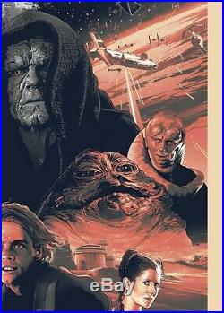 Star Wars Variant Poster by Grzegorz Domaradzki Gabz Limited Movie Print
