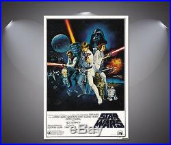 Star Wars Vintage Movie Canvas Print A0 A1 A2 A3 A4